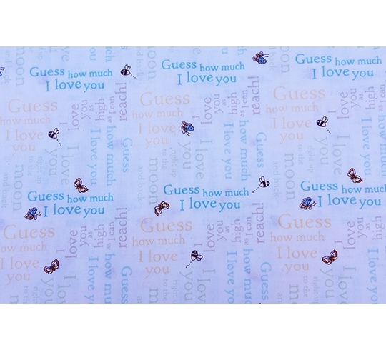 Kinderen Guess How Much I Love You Y2520 55 Multi Color Quiltshop Leur