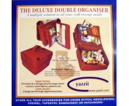 Tas The Deluxe Double Organiser