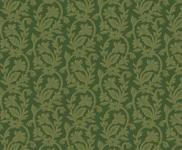 Bally Hall, Small Jacquard, Olive 8529-G