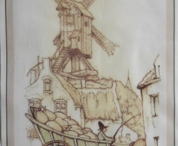 Anton Pieck, De Windmolen
