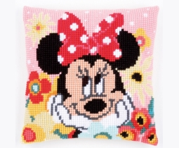 Vervaco Minnie Mouse kussen