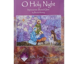 O Holy Night Impressionist Stained Glass
