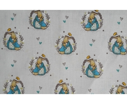 Peter Rabbit, Teal 4 by Beatrix Potter