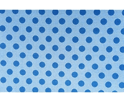 Tilda Dots Denim Blue