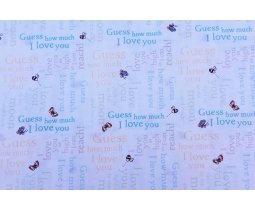 Guess How Much I Love You Y2520-55 multi color
