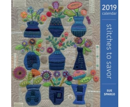 Kalender 2019 Stitches to Savor by Sue Spargo
