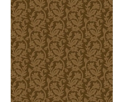 Bally Hall, Small Jacquard, Brown 8529-EN