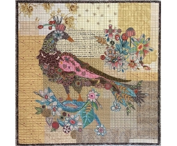 Pheasant Collage by Laura Heine