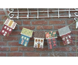 Saltbox Guirlande by Maggie Bee Quilts