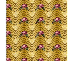 Bally Hall, Waves, Mustard 8524-GY