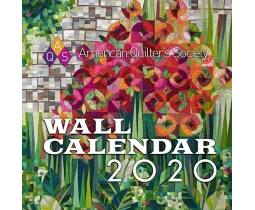 American Quilter's Society Wall Calendar 2020