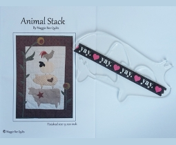 Animal Stack by Maggie Bee Quilts