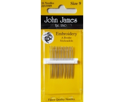 John James Embroidery size 9