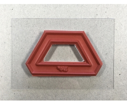 Halve Hexagon 3/4 inch