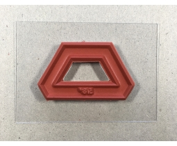 Halve Hexagon 5/8 inch
