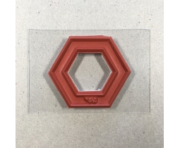 Quiltstempel Hexagon 1 1/2 inch