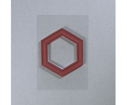 Quiltstempel Hexagon 1 inch
