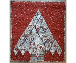 Advent Quilt Kristel Salgarollo