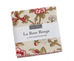 La Rose Rouge mini charm 2,5 inch