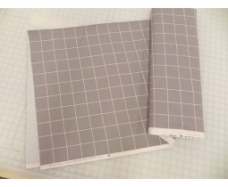 DESIGN WALL FLANEL GRID 100x110 cm