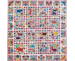 Animal Album Quilt van Kim McLean