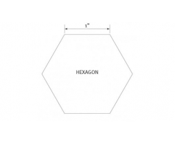 1 inch hexagon papier