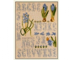 DMC Hyacinth Sampler