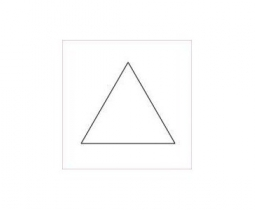 Equilateral Triangle 1 1/4