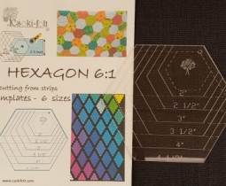 Hexagon 1 template 6 maten